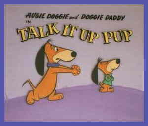Title card from an original Augie Doggie segment.