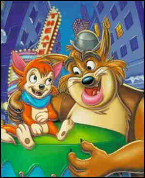 Banjo and Crazy Legs, from the cover of a video release.