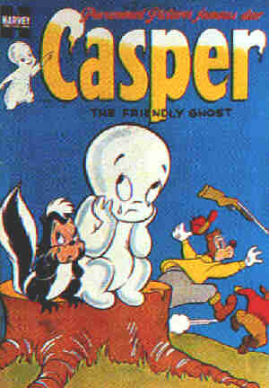 Casper the Friendly Ghost #15, 1953.
