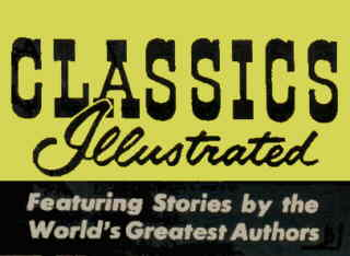 The 1950s-60s Classics Illustrated logo.