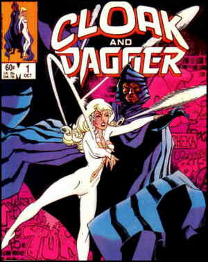 Cloak and Dagger. Artists: Rick Leonardi and Terry Austin.