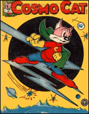 Cosmo Cat to the rescue! Artist: L.B. Cole
