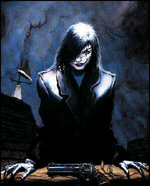 The Crow. Artist: James O'Barr.