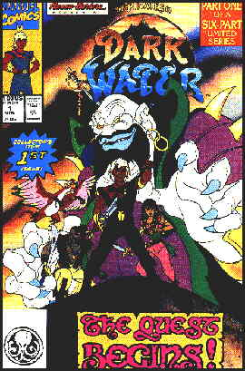 Cover of the first Marvel comic book version.
