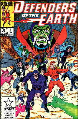 Cover of the first comic book edition. Artists: Alex Saviuk and Fred Fredericks.