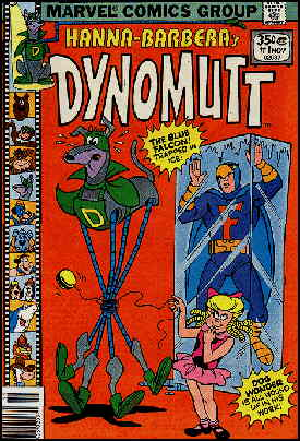 Cover of Dynomutt's first issue from Marvel.