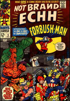 Forbush-Man introductory issue. Artist: Marie Severin.