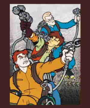 Extreme Ghostbusters in action.