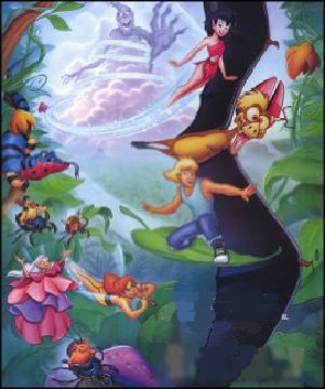 From the Ferngully poster.