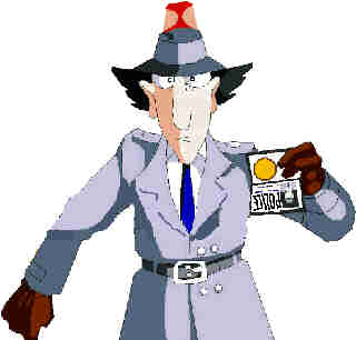 Inspector Gadget shows who's boss.