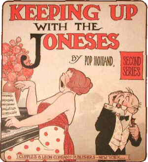 Cover of a Cupples & Leon collection. Artist: Pop Momand.