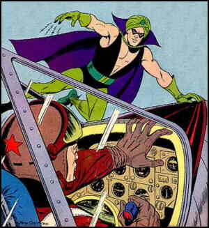 Magicman, from his first cover. Artist: Pete Costanza.