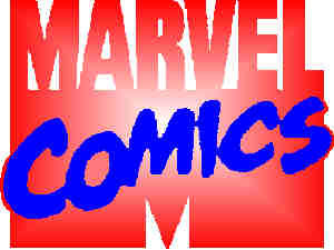 The Marvel Comics logo.