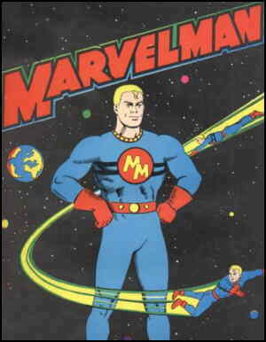 Marvelman poses heroically.