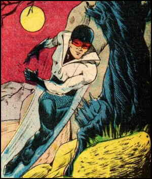 Quicksilver, from back when he was Quicksilver. Artist: Nick Cardy.