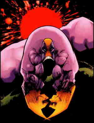 The Maxx, from the cover of the first issue. Artist: Sam Kieth.