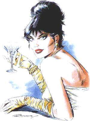 Modesty Blaise. Artist: Enrique Romero.