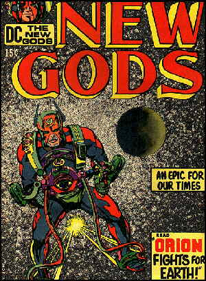 Cover of the first issue. Artist: Jack Kirby.