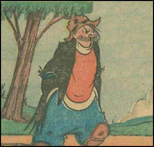 Pete the Tramp. Artist: C.D. Russell.