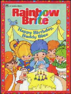 Cover of one of Rainbow Brite's books.