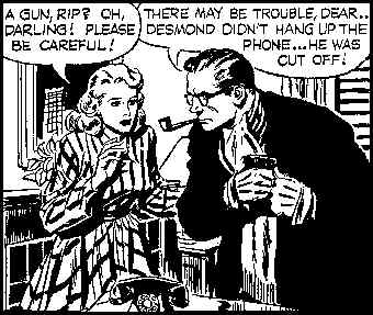 Rip responds to a call for action. Artist: Alex Raymond.