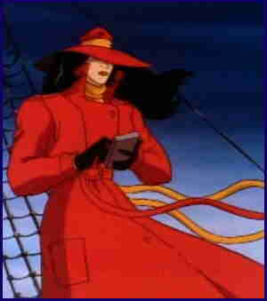 Carmen Sandiego, from the Fox TV show.