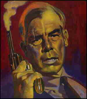 Savage, looking just like Lee Marvin on the cover of his only issue. Artist: Robert Foster.