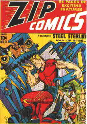 Steel Sterling: A 1940 cover.