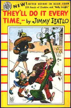 Cover of a 1951 paperback reprint edition. Artist: Jimmy Hatlo.
