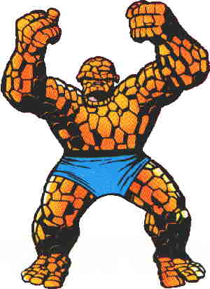 Ben Grimm, aka The Thing. Artist: Jack Kirby.