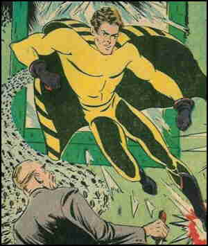 Yellowjacket and his yellowjackets fight crime.